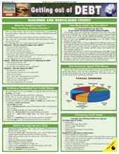 Debt (Getting Out Of) Laminated Reference Guide By Barcharts, Inc. (COM)